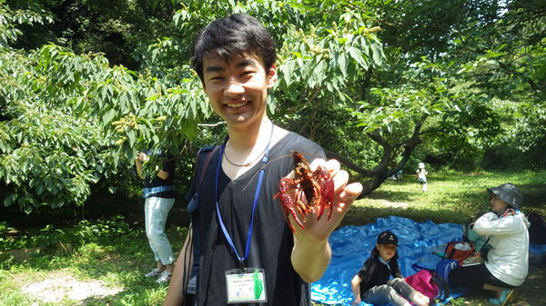 【募集終了】令和元年度 自然体験会「ザリガニ捕獲大作戦」
